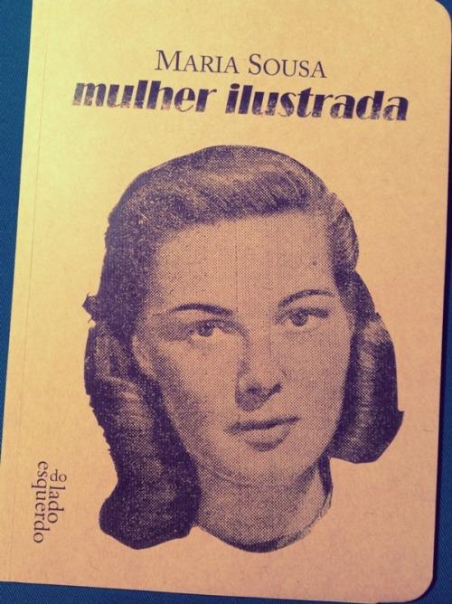 «Mulher Ilustrada», de Maria Sousa (capa)